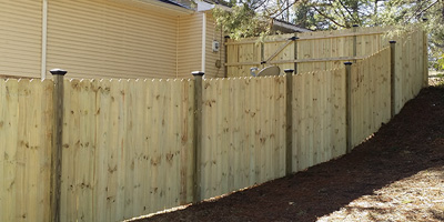 wood privacy fences. Our Beautiful Wood Fences Are Expertly Designed And Installed. They Provide Plenty Of Privacy Can Instantly Transform Your Yard, Garden, Or Home Into A